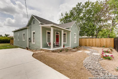 San Antonio Single Family Home Back on Market: 714 Dawson St