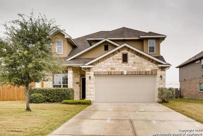 Schertz Single Family Home New: 10236 Colonel Ridge