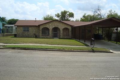San Antonio Single Family Home New: 518 Stimmel St