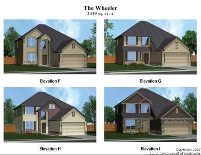Schertz Single Family Home New: 4535 Meadow Green