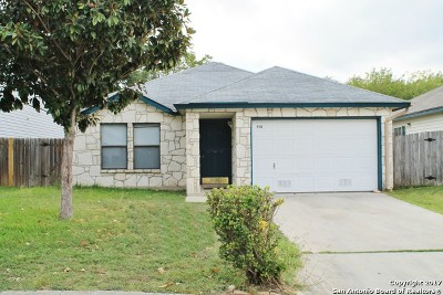 San Antonio Single Family Home New: 8102 April Bnd