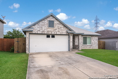Helotes Single Family Home New: 11711 Gulf Sta