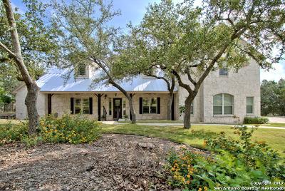 Comal County Single Family Home Price Change: 152 Champions Rdg