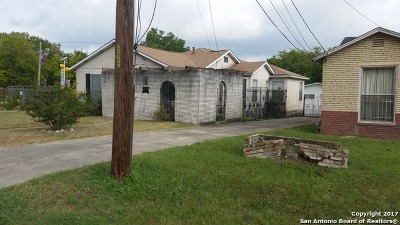 Bexar County Single Family Home For Sale: 1907 Lamar