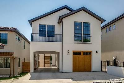 San Antonio Single Family Home New: 354 E Olmos Dr