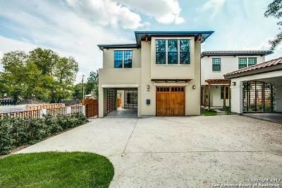 San Antonio Single Family Home New: 440 E Olmos Dr