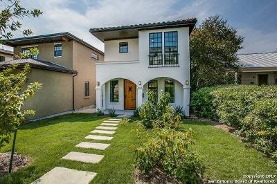 San Antonio Single Family Home New: 334 E Olmos Dr