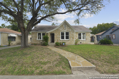San Antonio Single Family Home New: 1641 Hicks Ave