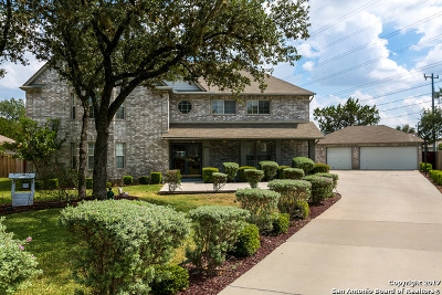 San Antonio Single Family Home New: 18602 Redrock Woods