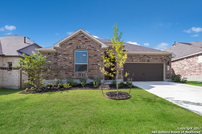 Boerne Single Family Home Price Change: 9852 Jon Boat Way