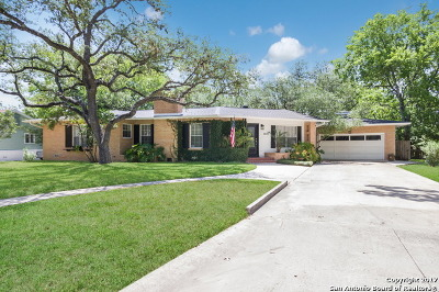San Antonio Single Family Home New: 2420 W Summit Ave