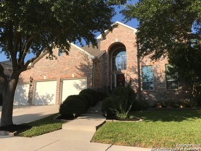 San Antonio Single Family Home New: 18702 Crosstimber