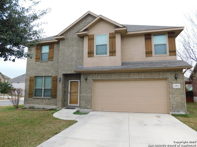San Antonio Single Family Home New: 11843 Jasmine Way