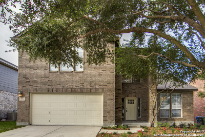 San Antonio Single Family Home New: 13634 Mason Crest Dr