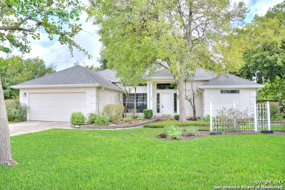 Boerne Single Family Home New: 326 Chaparral Creek Dr