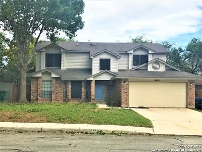 San Antonio Single Family Home New: 6034 Spring Vly