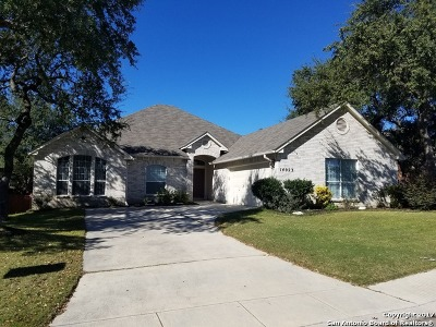 Helotes Single Family Home For Sale: 14023 Windy Crk