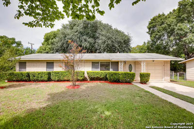 San Antonio Single Family Home New: 4843 Lyceum Dr