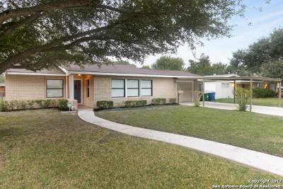 San Antonio Single Family Home New: 218 Nash Blvd