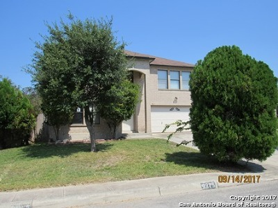 San Antonio Single Family Home New: 9815 Morningfield