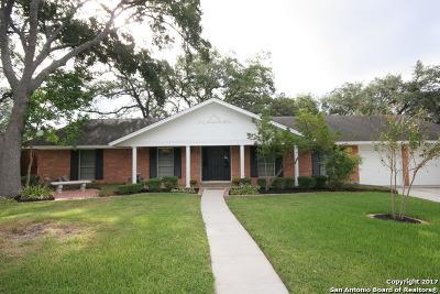 San Antonio Single Family Home New: 7302 Ashton Pl