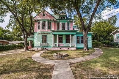San Antonio Single Family Home New: 609 Carson St