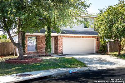 San Antonio Single Family Home New: 10842 Firefox Den