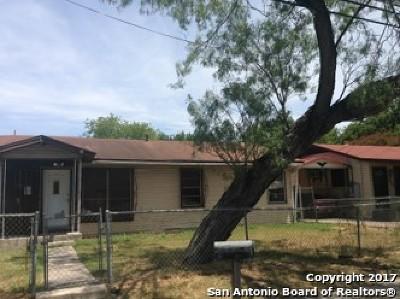 San Antonio Single Family Home New: 839 W Harding Blvd