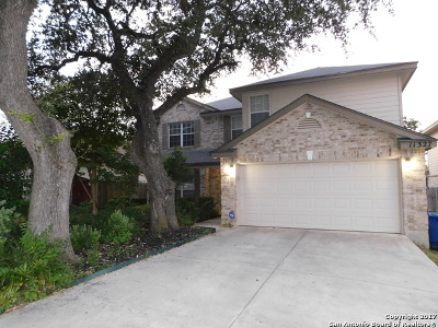 Helotes Single Family Home New: 11327 Mentmore