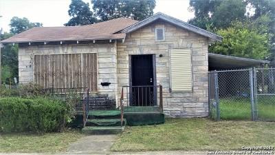 San Antonio Single Family Home New: 1214 Burleson