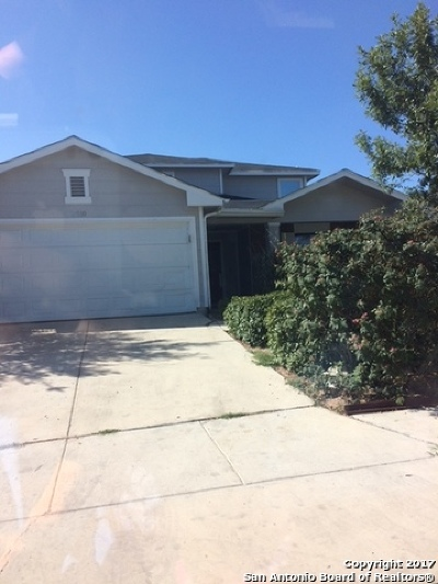 Converse Single Family Home New: 8510 Crinum Lily Dr
