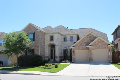 San Antonio Single Family Home New: 24027 Prestige Dr