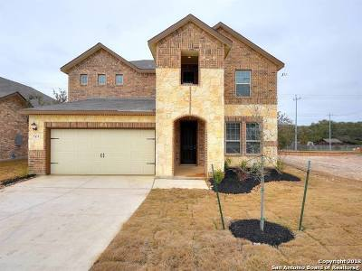 San Antonio Single Family Home New: 7419 Cove Way