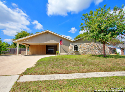 Bexar County Single Family Home New: 7701 Cool Sands St