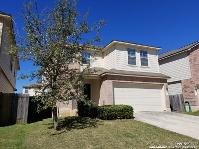 Helotes Single Family Home New: 11015 Gilpin Cyn