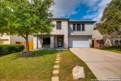 San Antonio Single Family Home For Sale: 431 Bluegrass Crk