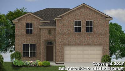 San Antonio Single Family Home New: 13835 Fredrick Hill