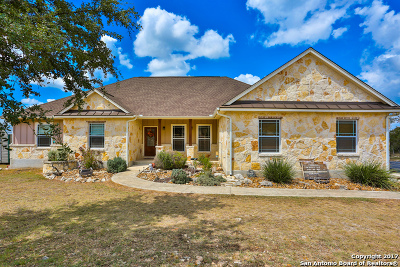 Boerne Single Family Home Price Change: 307 River Rdg