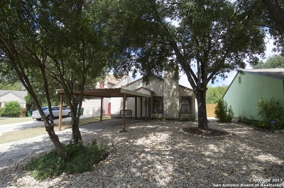 San Antonio Single Family Home New: 9831 Valley Cabin
