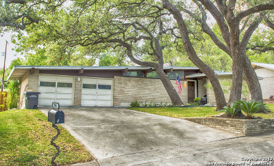 San Antonio Single Family Home New: 10911 Cedar Elm Dr