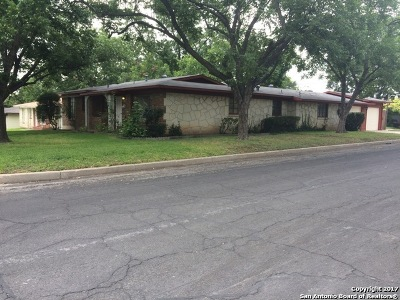 San Antonio Single Family Home New: 466 Savannah Dr