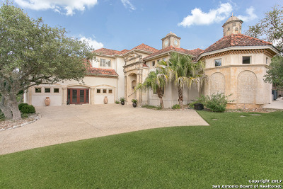 San Antonio Single Family Home New: 24820 Player Oaks