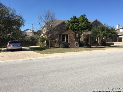 San Antonio Single Family Home New: 18510 Emerald Forest Dr