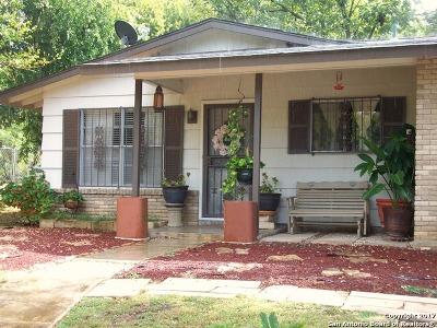 San Antonio Single Family Home New: 1706 Corita St