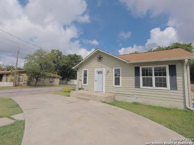 San Antonio Single Family Home New: 339 Cantrell Dr