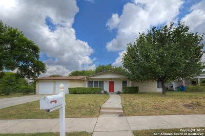 San Antonio Single Family Home Back on Market: 811 Northcrest Dr