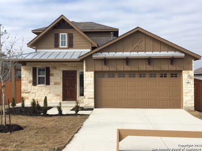 Schertz Single Family Home For Sale: 6801 Concho Creek