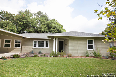 San Antonio Single Family Home New: 307 Tophill Rd