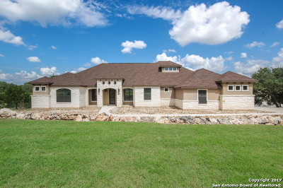 New Braunfels Single Family Home For Sale: 269 Legacy Hills