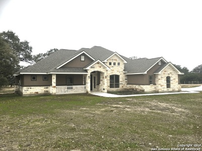 New Braunfels Single Family Home For Sale: 1263 Merlot